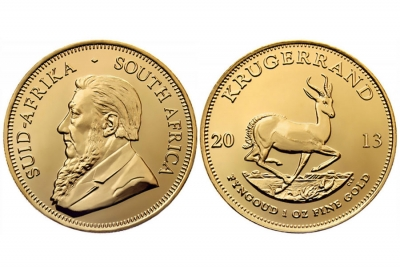 KRUGERRAND D'ORO SUD AFRICA